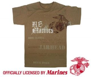 US Marine Corps T shirt NIMITZ QUOTE Jarhead Leatherneck Devil Dogs