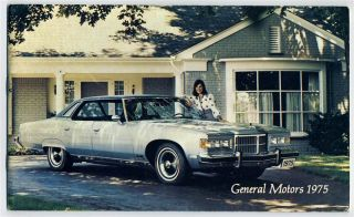 General Motors Product Brooklet 1975 Chevy Buick Olds Pontiac Cadillac
