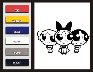 Powerpuff Girls Decal Vinyl Sticker Car Decal Window Blossom Buttercup