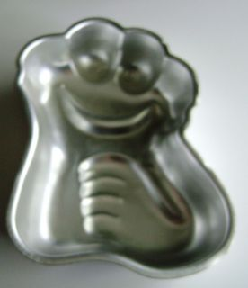 Wilton Cookie Monster Cake Pan Mold 3005 629 Muppet