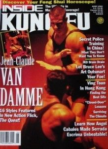 KUNG FU MAGAZINE JEAN CLAUDE VAN DAMME BLACK BELT KARATE MARTIAL ART