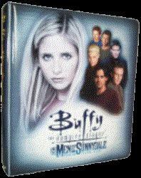 Buffy Men of Sunnydale Trading Card Binder Sell Sheet
