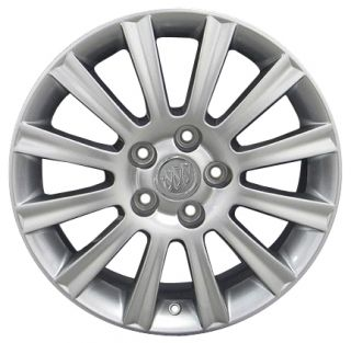 17 Silver Buick Lacrosse Wheels 4069 Set of 4 Rims Fit 2006 2009