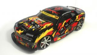 Chevrolet Camaro RC Remote 4 Wheel Drive (4WD) DRIFT RACING CAR 1/10