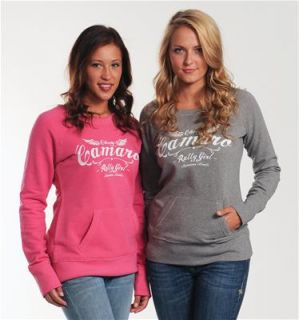 Long Sleeve Pink Chevy Camaro Rally Girl Womens 2X LG
