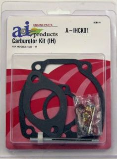 IH Farmall M Super H 300 350 400 450 Carburetor Kit