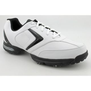 Callaway Golf Chev Comfort Mens Size 10 White Leather Golf Shoes