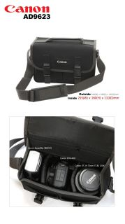 Canon Camera Bag NO9623 DSLR SLR 1000D 350D Black