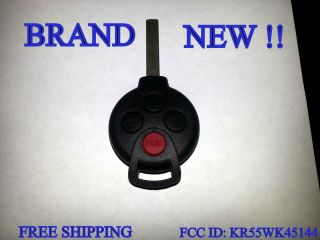MERCEDES BENZ SMART CAR FOURTWO KEYLESS REMOTE KEY FCC ID KR55WK45144