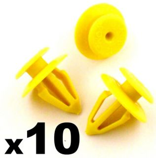 10x Ford Interior Door Card Panel Retainer Trim Clips