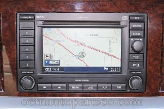 Dodge RAM 1500 6 CD Player Radio Stereo GPS Rec Navigation System