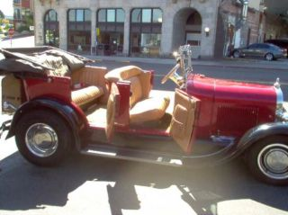 1928 Ford Phaeton Convertible Street Rod Fully Restored in 80s