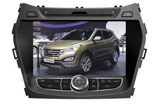 Car DVD Player Radio GPS Navigation for Hyundai IX45 Santa FE 2013
