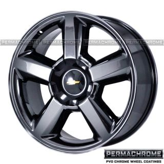 Chevy Truck 1500 Tahoe Black Chrome Wheels Exchange
