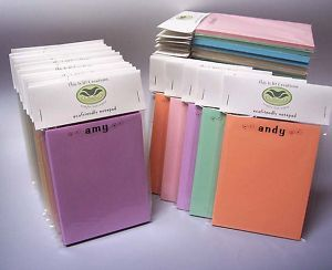 Eco Friendly Personalized Recycled Paper Note Pad
