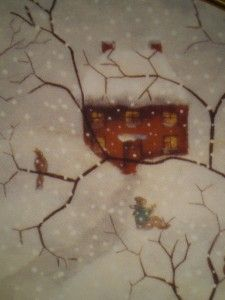 Afternoon Visitors Franklin Mint Plate Carol J Endres