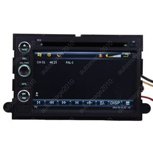 Car GPS Navigation Radio HD Touch Screen TV DVD Player for 2005 09
