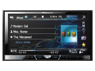 Pioneer AVH P4400DVD in Dash Double DIN Radio DVD Receiver 7 Touch