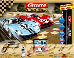 Carrera 23605 Sports Car Duel Race Slot Car Track Set Digital 124