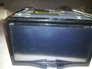 Car stereo JVC KW AVX840 touch screen gps and dvd sold as is