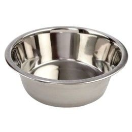 Steel Standard Pet Dog Puppy Cat Food or Drink Water Bowl Dish