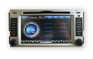 In Dash GPS Navigation Radio Car Stereo for Hyundai Santa FE 2007 08