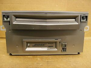 NISSAN MAXIMA BOSE CD 6 DISC PLAYER RADIO CHANGER 2004 2005 2006 CR310