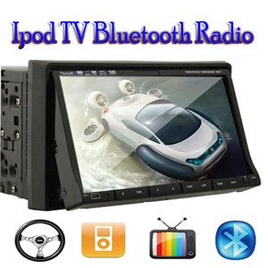 BST 7 Touch Screen in Car CD DVD SD USB TV VCD Player