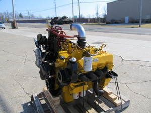 Cat 3208 V8 Diesel Engine Out of Ford Truck