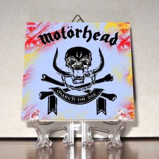 Motorhead Ceramic Tile Logo HQ Heavy Metal 100% Hand Made Mod.3