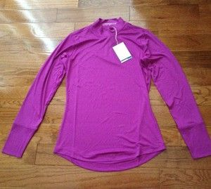 Womens Girls Nike Golf Dri Fit Compression Long Sleeve Mock Top Shirt