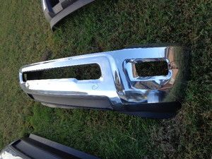 2010 2011 2012 Dodge RAM Factory Chrome Front Bumper 2500 3500