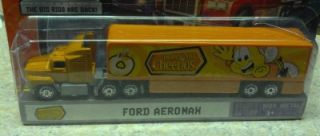 Convoy Ford Aeromax Honey Nut Cheerios Big Rig Semi Truck VHTF