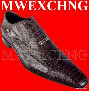 CESARE PACIOTTI LUXURIOUS OSTRICH OXFORDS US 9 ITALIAN DESIGNER MENS