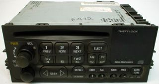1996 2005 Chevy Astro Van Factory Radio Tape Player