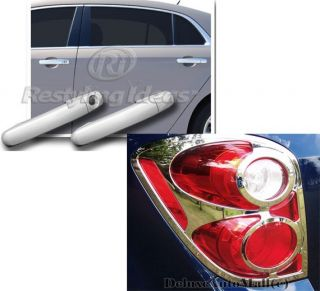 2010 2011 2012 Chevy Equinox Chrome Package Door Handle Covers Tail