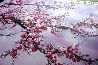 60 Fantasy Zen Cherry Blossom Signed Original Modern Abstract Art Oil