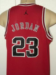 AIR JORDAN SEWN MICHAEL JORDAN #23 CHICAGO BULLS JERSEY MENS L
