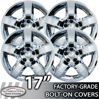 2007 2010 Pontiac G6 17 Chrome Bolt on Hubcaps Wheel Covers
