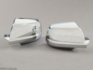 Tundra 2008 2012 Sequoia Chrome Door Mirror Cover Set Pair