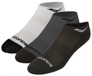 Saucony Mens Low Cut 3 Pack Running Socks SS11