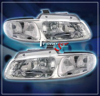 96 00 Grand Caravan Town Country Voyager Crystal Headlights Lamp