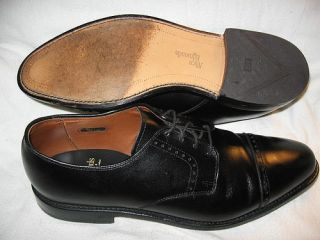 Allen Edmonds Clifton Oxfords Black Men Shoe 10 3E