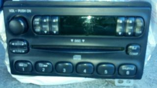 Ford CD Radio and Speakers Out of 99 04 V6 Mustang