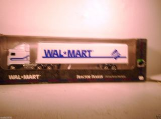 Was Mart Tractor Trailer Truck Sams Club Diecast Metal Toy