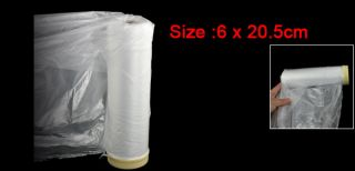 Clear Plastic Protection Masking Film Roll for Auto Car