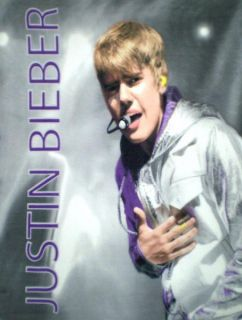 New Justin Bieber Rock Star Fleece Throw Polar Blanket Wall Hanger