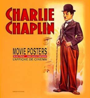 Vintage Poster Book Charlie Chaplin Silent Film Comedy Clown Movies
