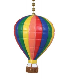 NEW Clementine Design Hot Air Balloon Ceiling Fan Pull Chain Light