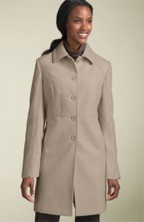 Kenneth Cole Reaction Seamed Melton Coat